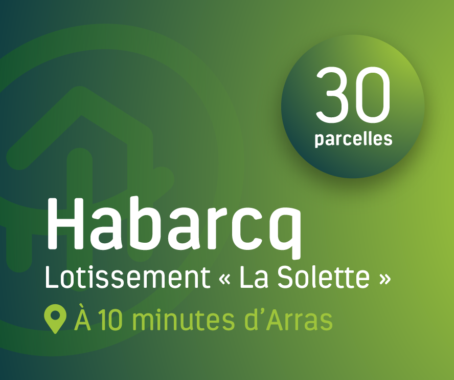 Terrains à bâtir à Habarcq